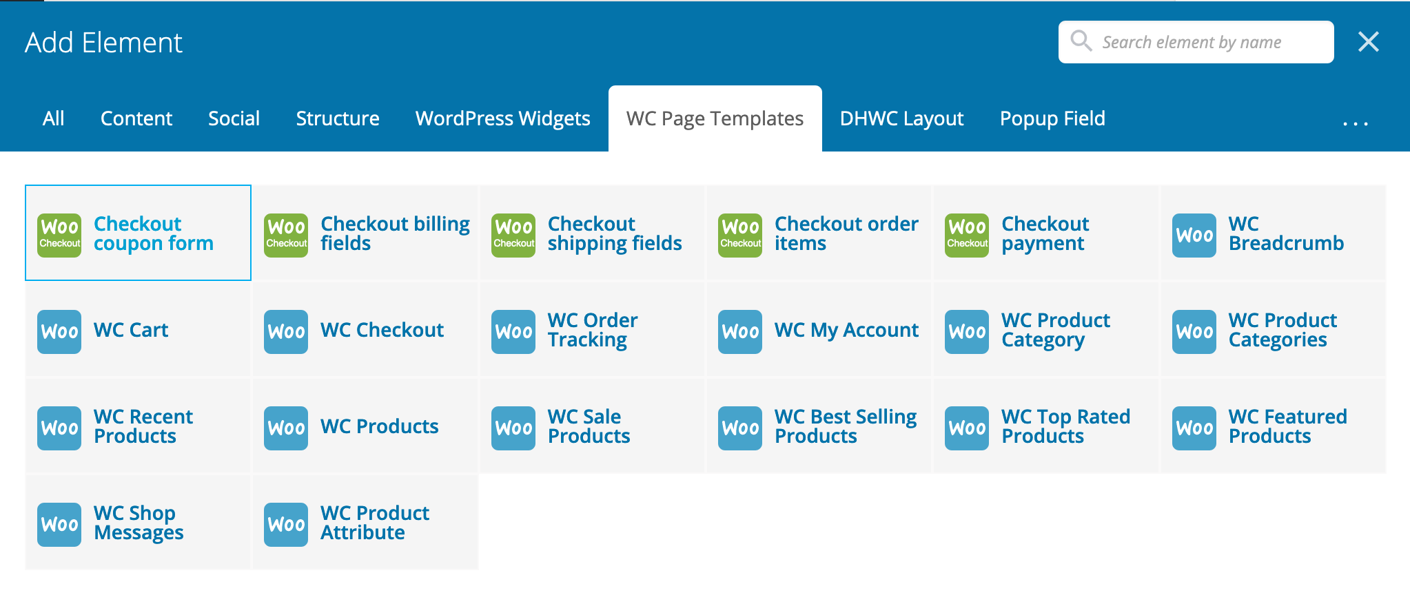 DHWCPage - WooCommerce Page Template Builder - 5