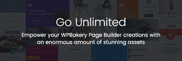 Unlimited Addons for WPBakery Page Builder (Visual Composer) - 1