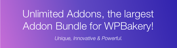 Unlimited Addons for WPBakery Page Builder (Visual Composer) - 3