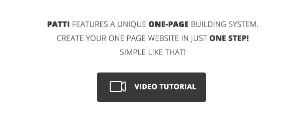 Patti - Parallax One Page WordPress Theme - 4