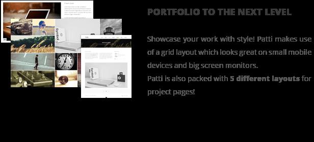Patti - Parallax One Page WordPress Theme - 11