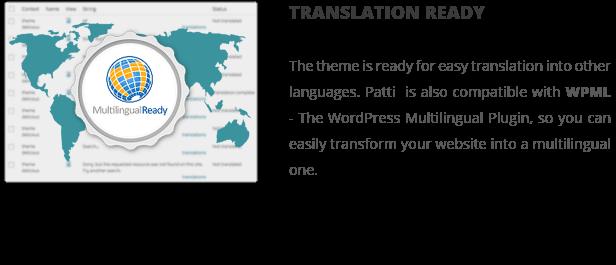 Patti - Parallax One Page WordPress Theme - 14