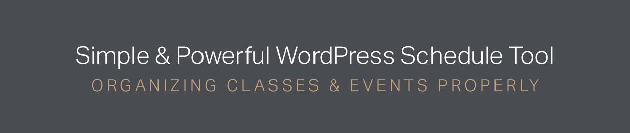 Events Schedule - WordPress Events Calendar Plugin - 3