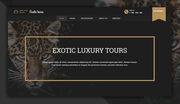 Luxury Tours WordPress Theme