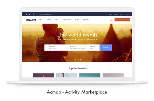 Travel Booking WordPress Theme - 8