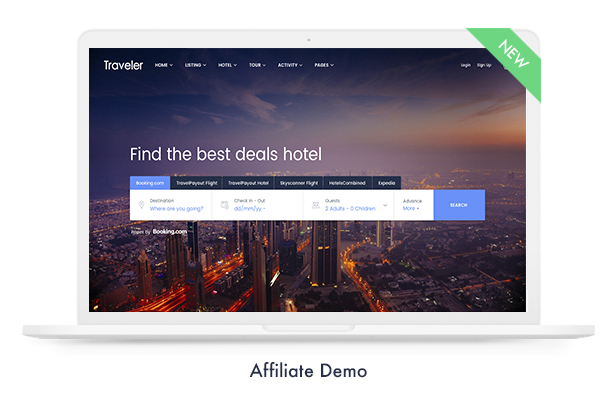 Travel Booking WordPress Theme - 12