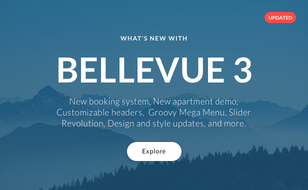 Hotel + Bed and Breakfast Booking Calendar Theme | Bellevue - 1