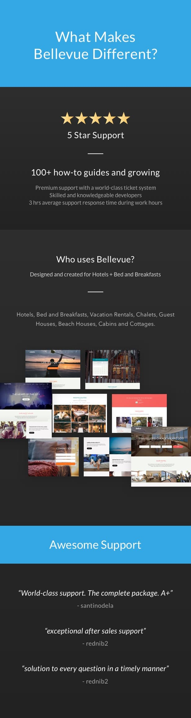 Hotel + Bed and Breakfast Booking Calendar Theme | Bellevue - 7