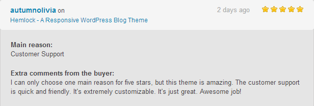 Hemlock - A Responsive WordPress Blog Theme - 2