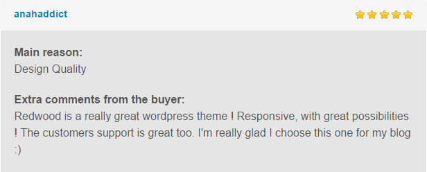 Redwood - A Responsive WordPress Blog Theme - 1