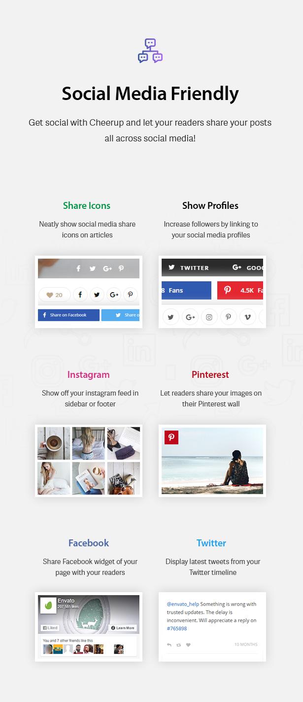 Social Media Friendly blog