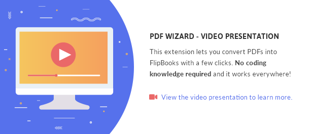 PDF To FlipBook Extension - 1