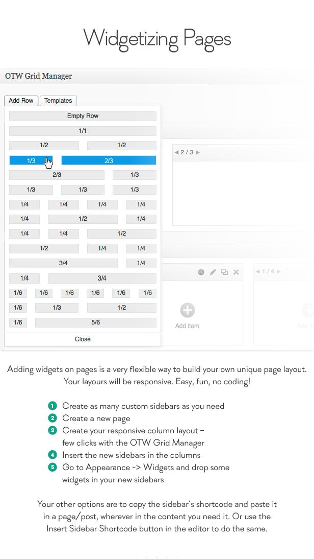 Sidebar & Widget Manager for WordPress - 6