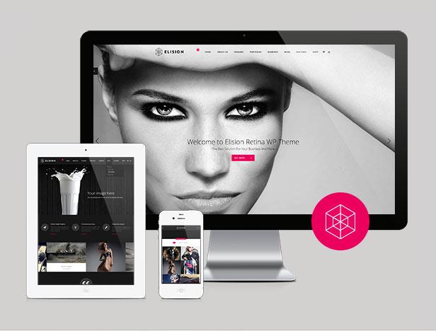 Elision - Retina Multi-Purpose WordPress Theme - 1