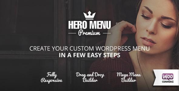 Hero Menu - Responsive WordPress Mega Menu Plugin