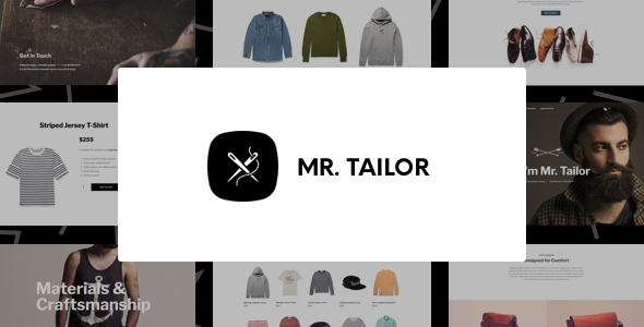 Mr. Tailor - Fashion and Clothing Online Store Theme for WooCommerce