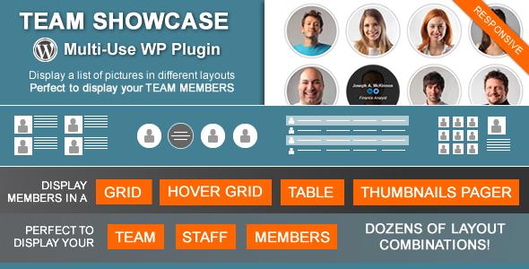 Team Showcase - Wordpress Plugin