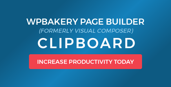 WPBakery Page Builder (Visual Composer) Clipboard