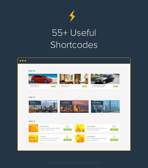 Travelo Shortcodes Intro
