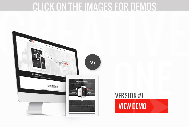 North - One Page Parallax Theme - 3