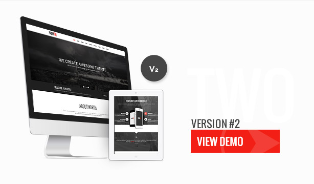 North - One Page Parallax Theme - 4