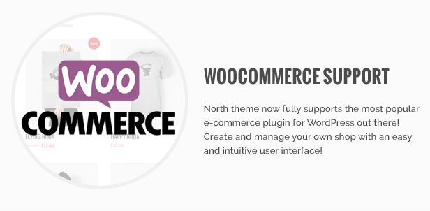 North - One Page Parallax WordPress Theme - 13