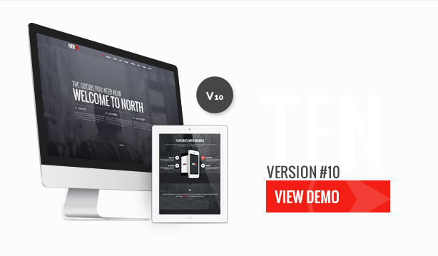 North - One Page Parallax Theme - 12