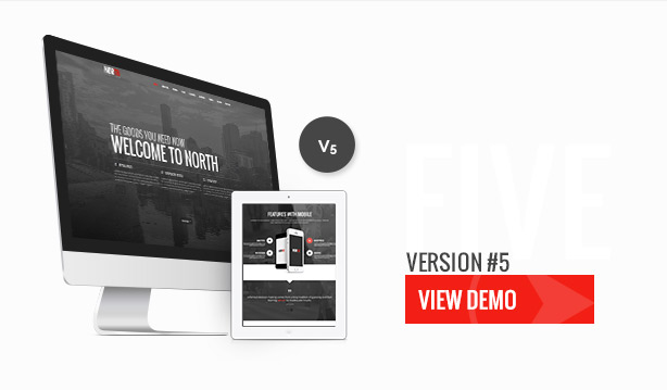 North - One Page Parallax Theme - 7