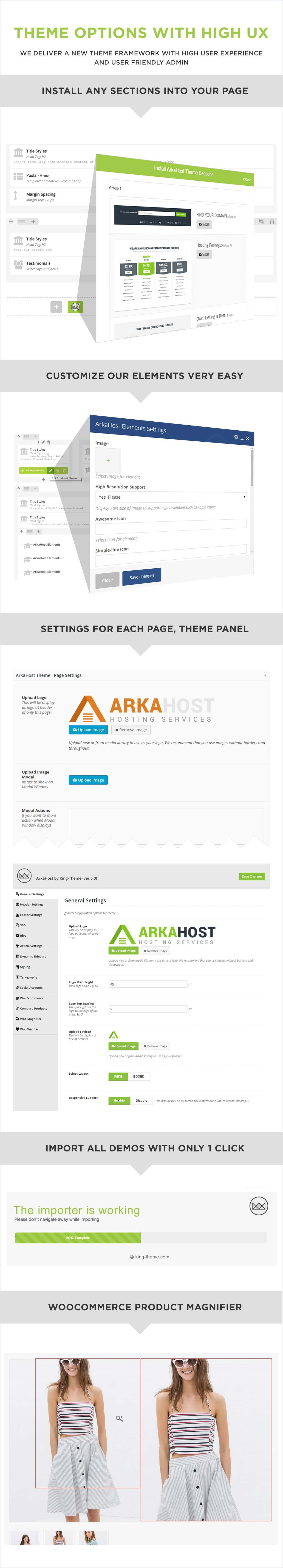 ArkaHost WordPress Hosting Theme Description 7