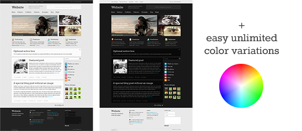 Website - Responsive WordPress Theme - 1