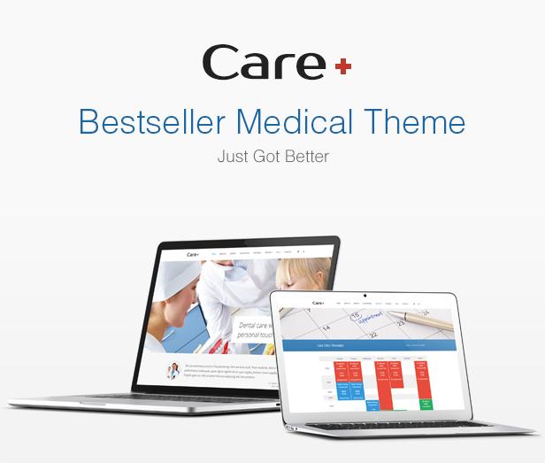 Care - Medical and Health Blogging WordPress Theme - 7