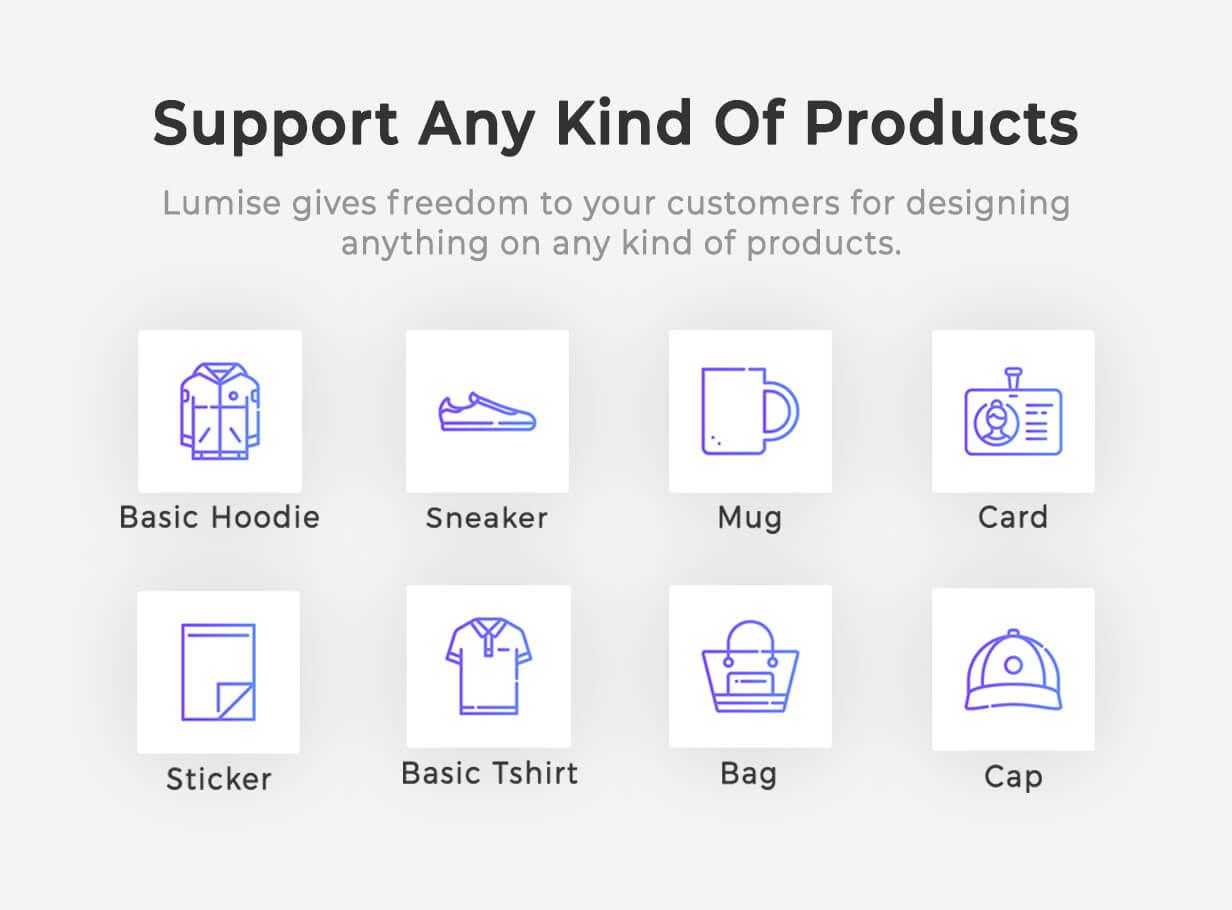 Product Designer for WooCommerce WordPress | LUMISE.COM - 7