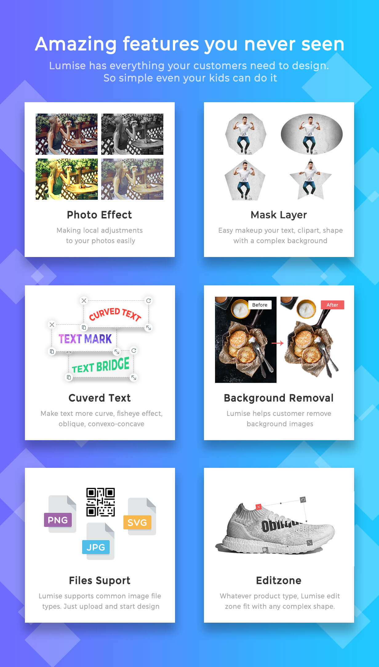 Product Designer for WooCommerce WordPress | LUMISE.COM - 9