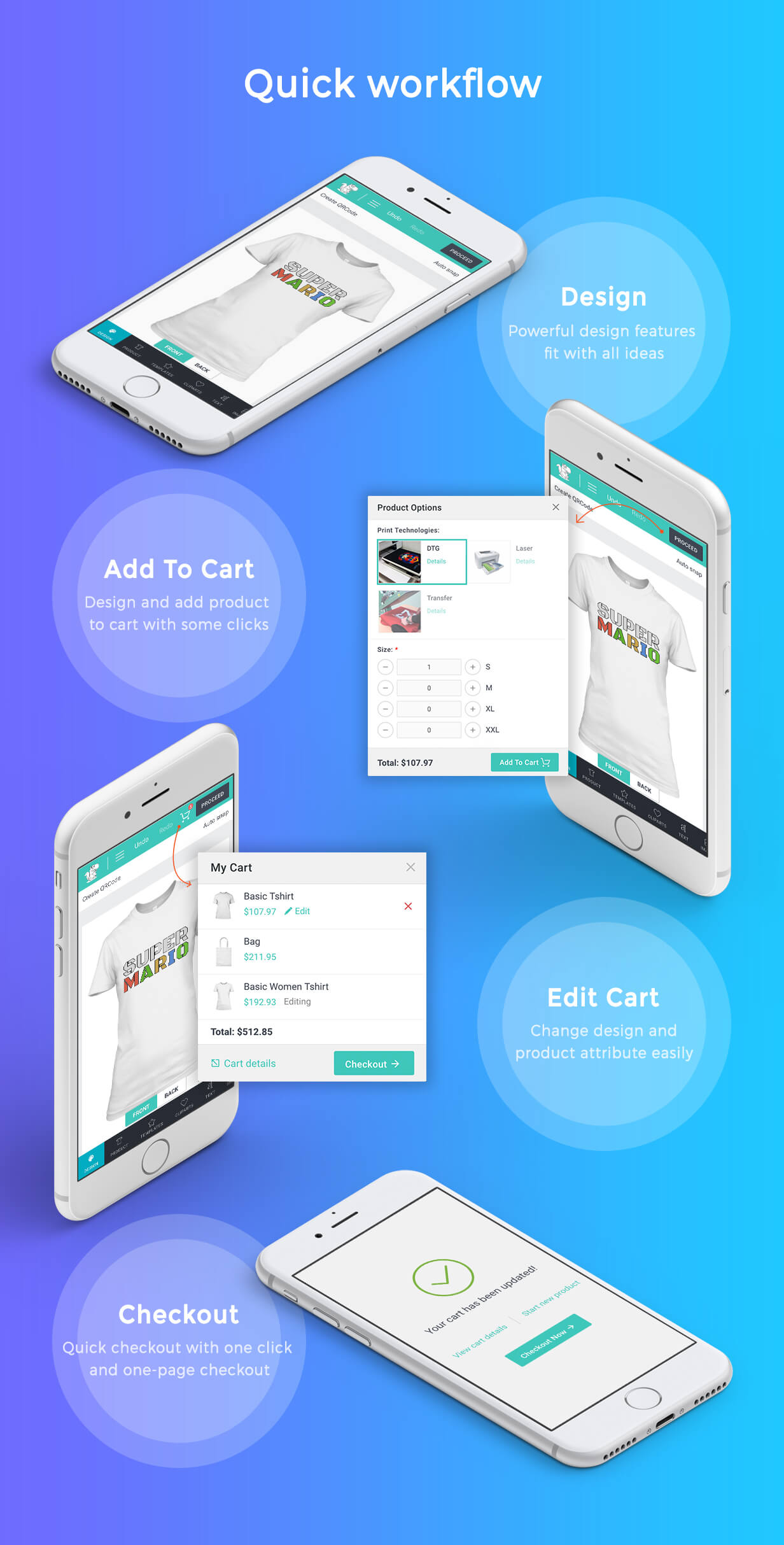 Product Designer for WooCommerce WordPress | LUMISE.COM - 18