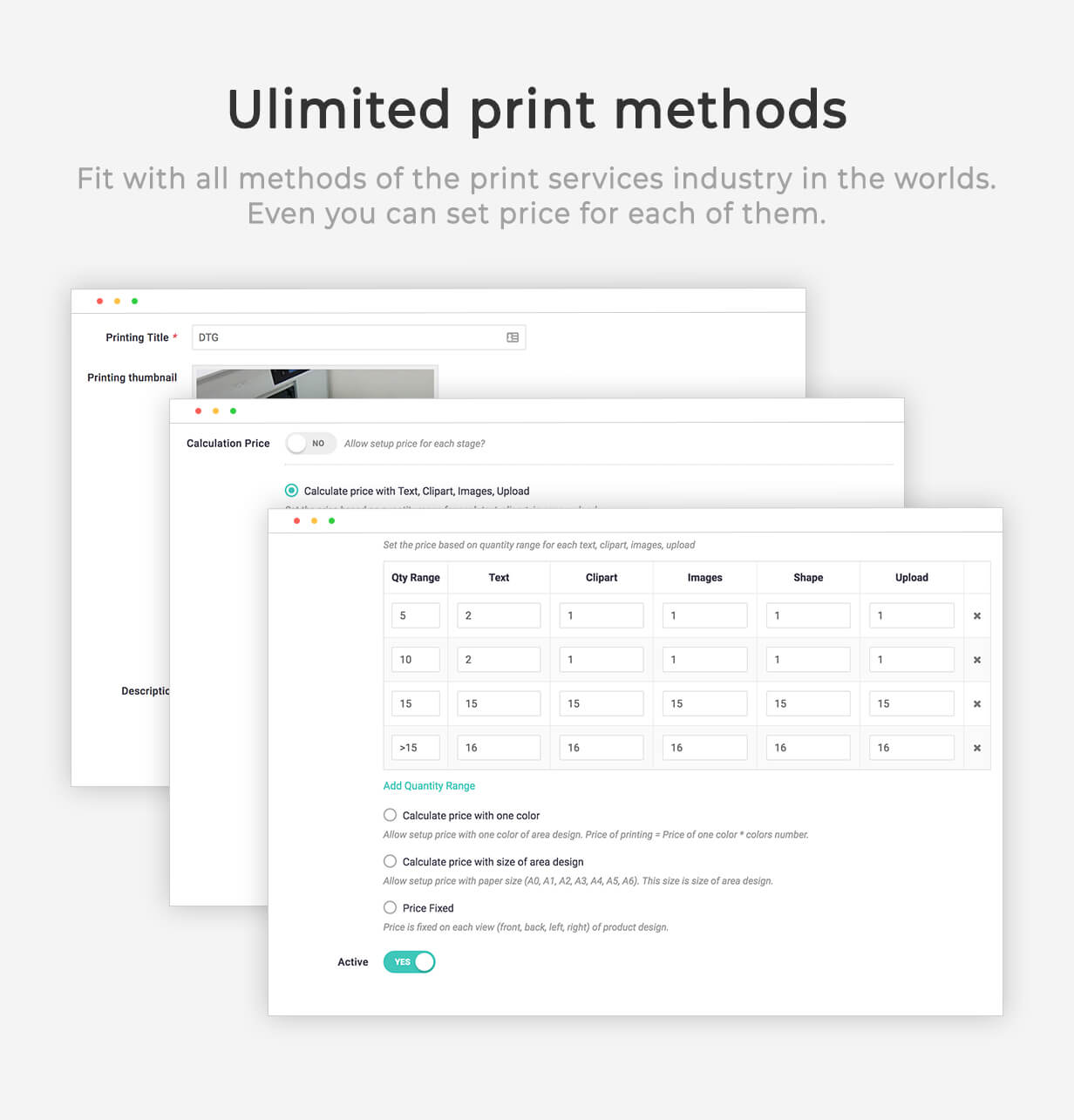Product Designer for WooCommerce WordPress | LUMISE.COM - 19