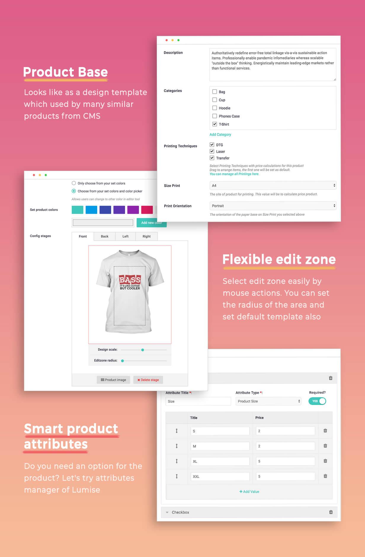 Product Designer for WooCommerce WordPress | LUMISE.COM - 20