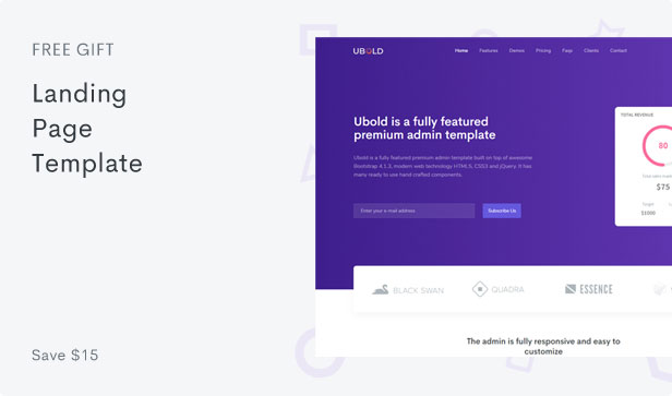 Ubold - Admin & Dashboard Template - 9