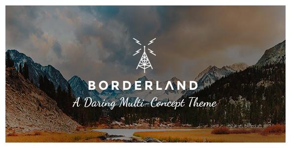 Borderland - Multipurpose Vintage Theme