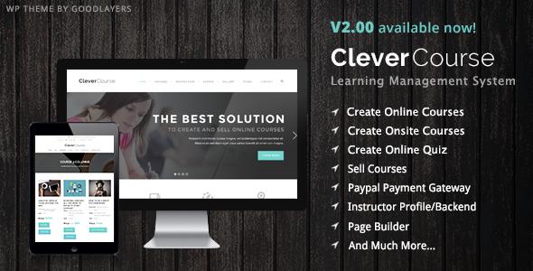 Clever Course - Education / LMS
