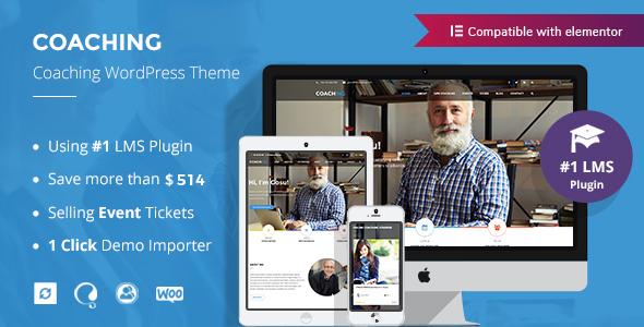Colead   Coaching & Online Courses WordPress Theme