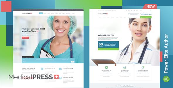MedicalPress - Health WordPress Theme