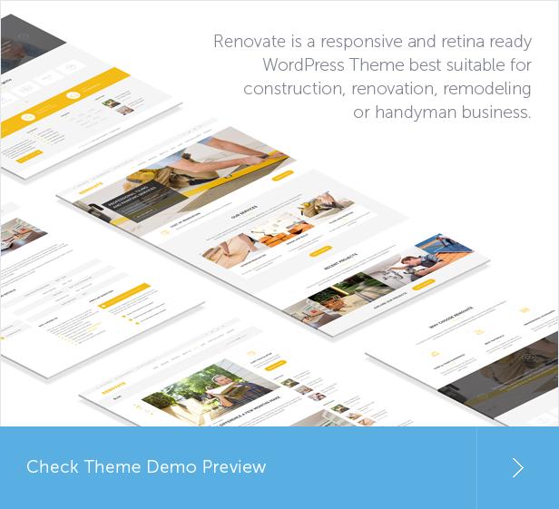 construction, construction services, building, remodeling, handyman WordPress Theme