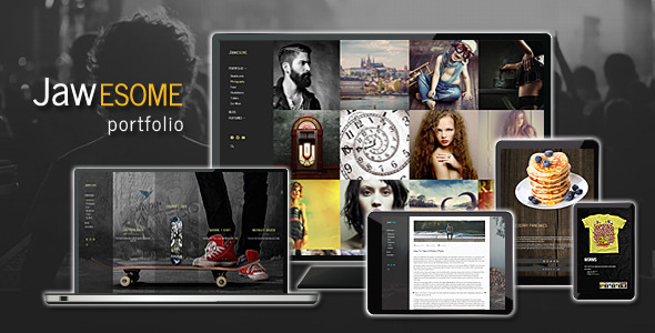 Designers portfolio theme