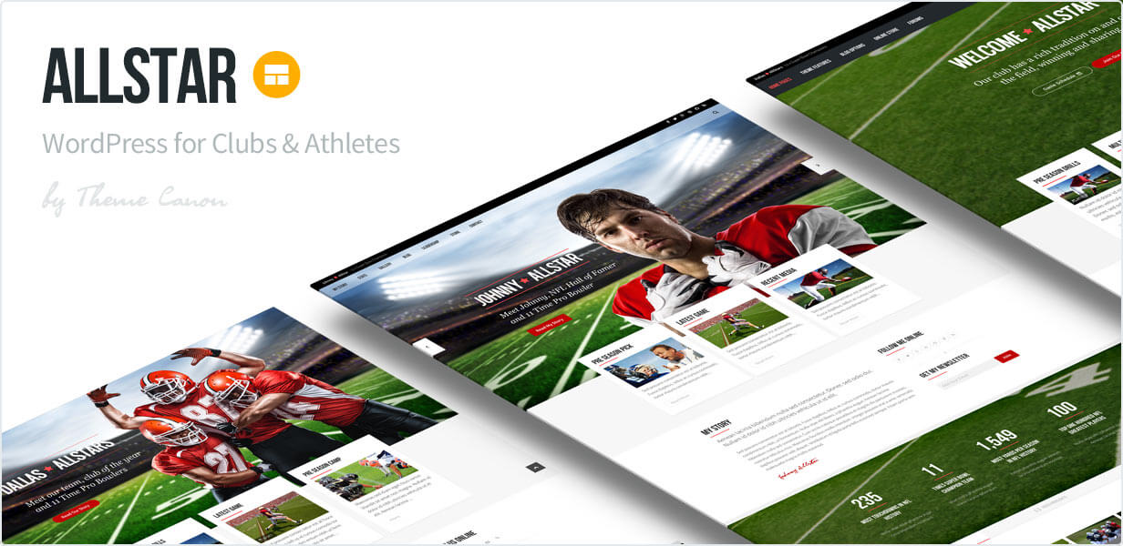 AllStar Sports Theme