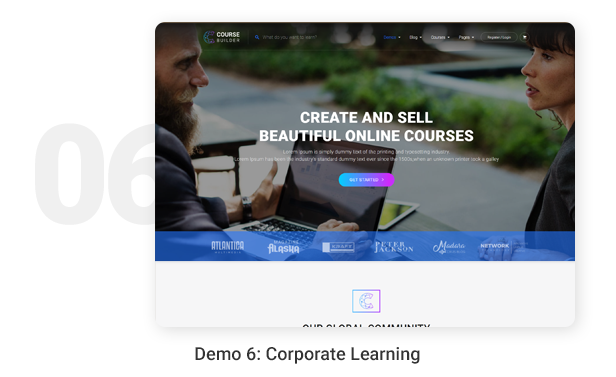 Demo 6: Corporate Learning