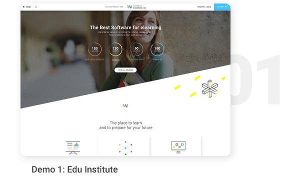 Demo 1: Edu Institute