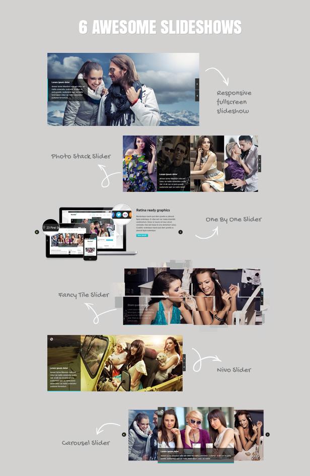 Nimble — Multipurpose Retina Ready WordPress Theme - 5