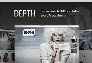 Depth - Full-Screen AJAX Portfolio WordPress Theme