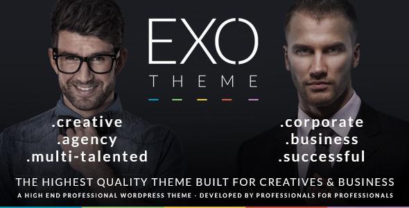 EXO | Creative & Corporate Specific Purpose Theme