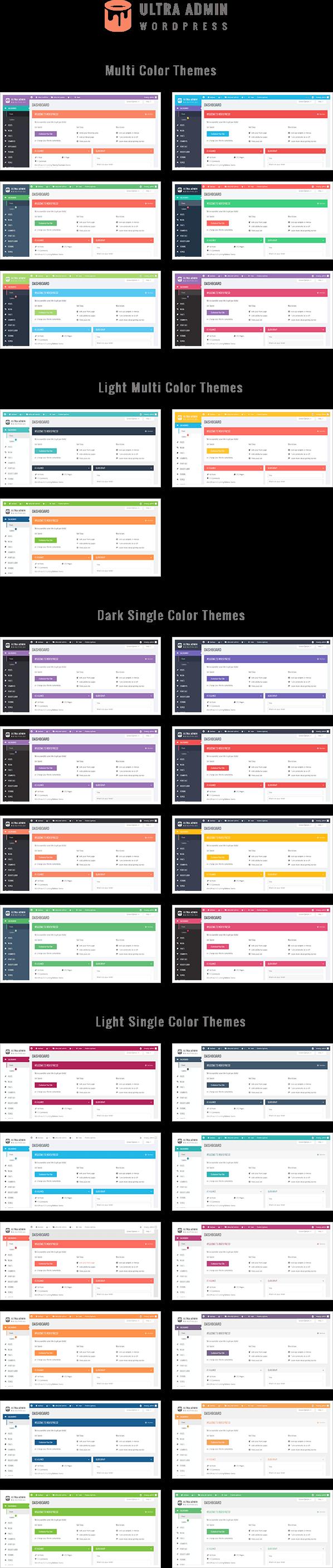 Ultra WordPress Admin Theme - 2